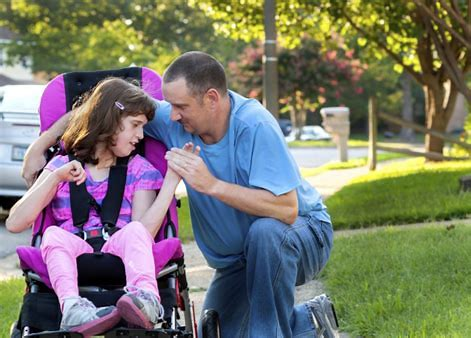 special needs, daughter and father, estate planning, special needs trust